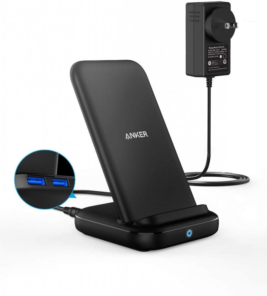 Anker PowerWave 10 Stand with 2 USB-A Ports セット