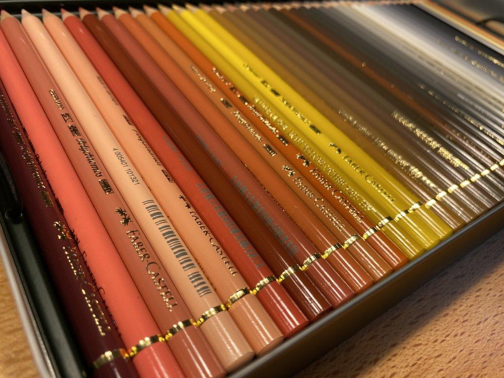 Faber ファーバーカステル ポリクロモス色鉛筆セット 120色 缶入 3段目1