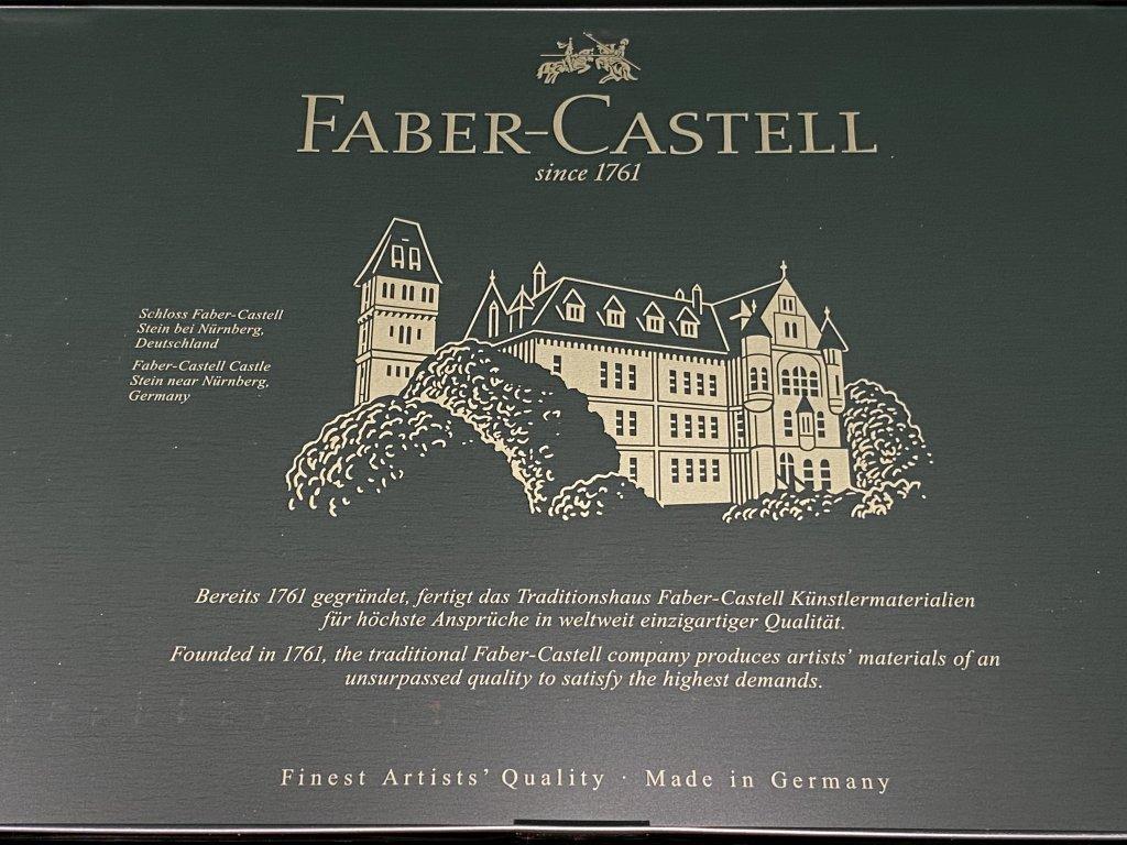 Faber ファーバーカステル ポリクロモス色鉛筆セット 120色 缶入 ロゴ