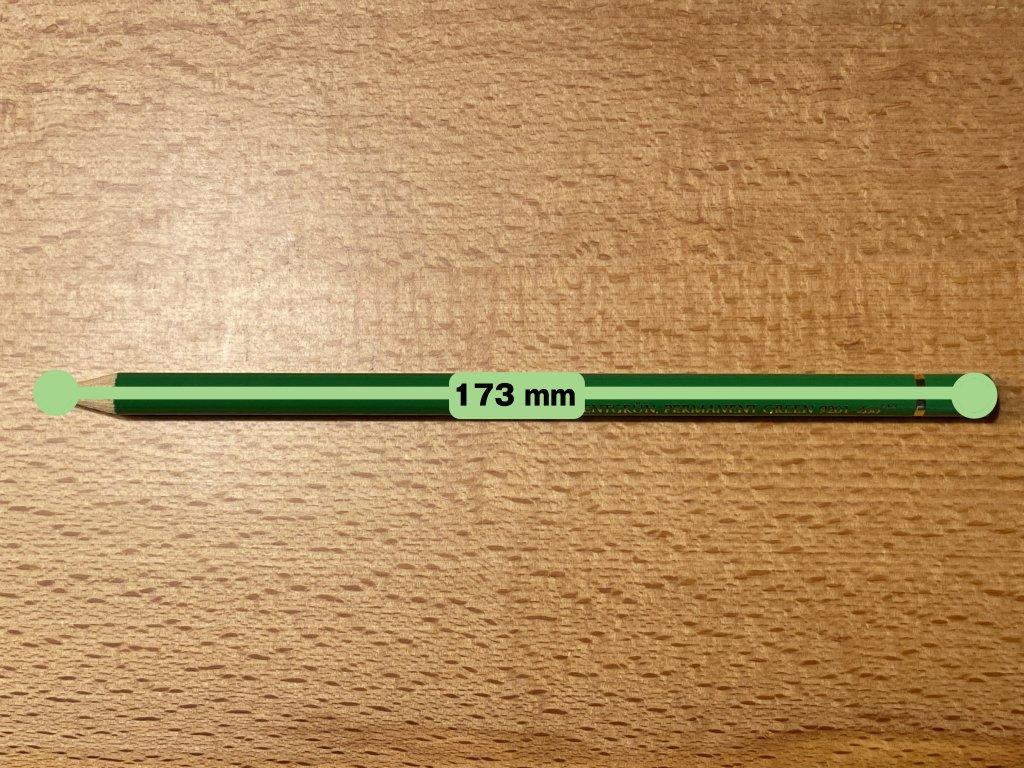 Faber ファーバーカステル ポリクロモス色鉛筆セット 120色 缶入 色鉛筆の長さ