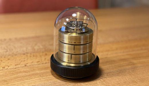【BARIGO バリゴ 温湿気圧計 レビュー】アクリルと真鍮製の本体が美しくデザイン性に優れた温湿気圧計