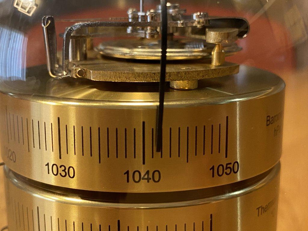 BARIGO バリゴ 温湿気圧計 気圧