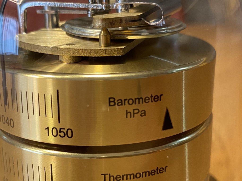 BARIGO バリゴ 温湿気圧計 気圧計