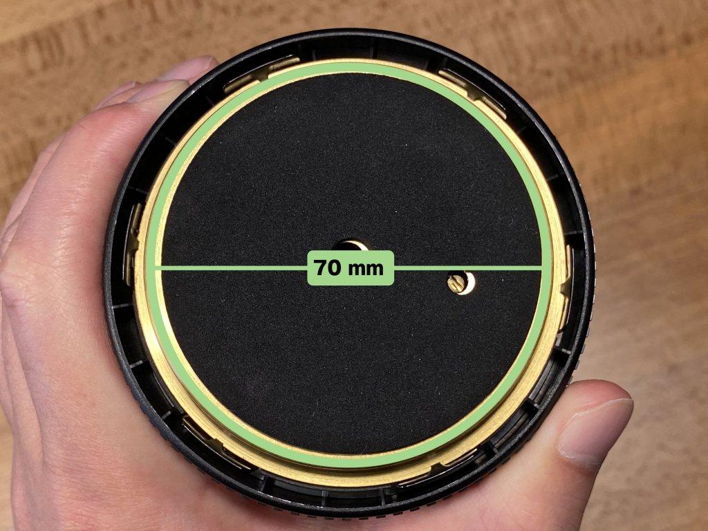 BARIGO バリゴ 温湿気圧計 底直径