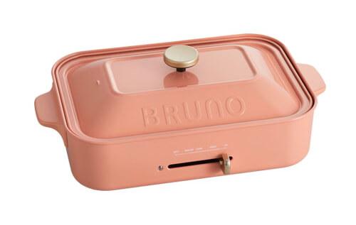 BRUNO ブルーノ コンパクトホットプレート コーラルピンク