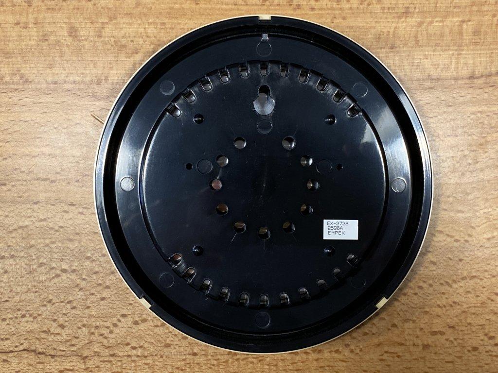 エンペックス気象計 温度湿度計 スーパーEX 裏面