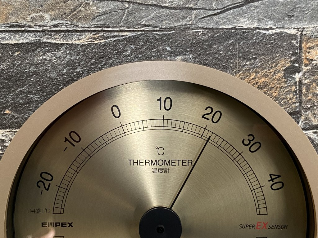 エンペックス気象計 温度湿度計 スーパーEX 温度計