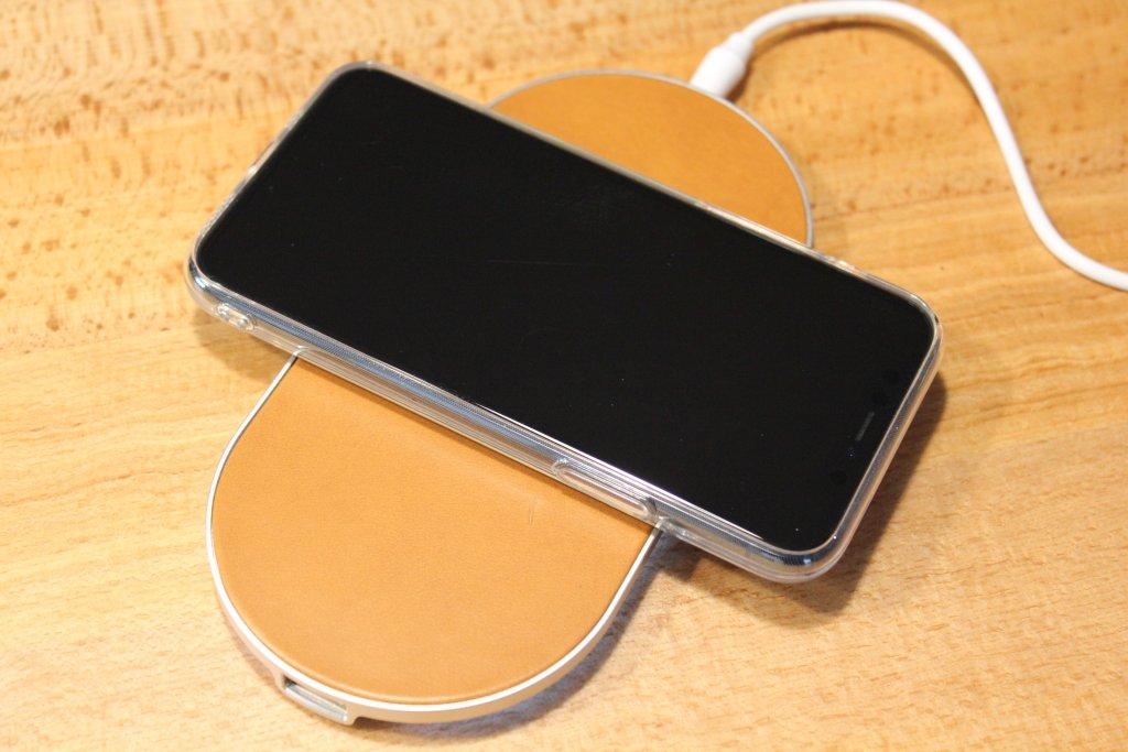 ENETREE 高速ワイヤレス充電器 EWCP01 充電