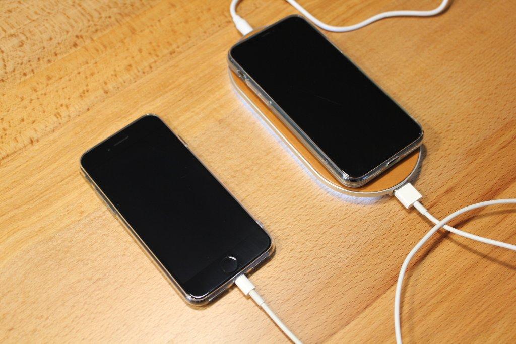 ENETREE 高速ワイヤレス充電器 EWCP01 同時充電