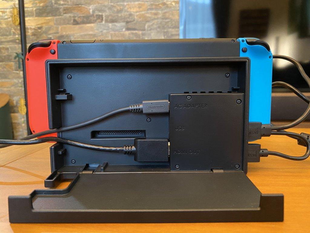 GeChic モバイルモニター On-Lap 1306H 純正ドックの配線
