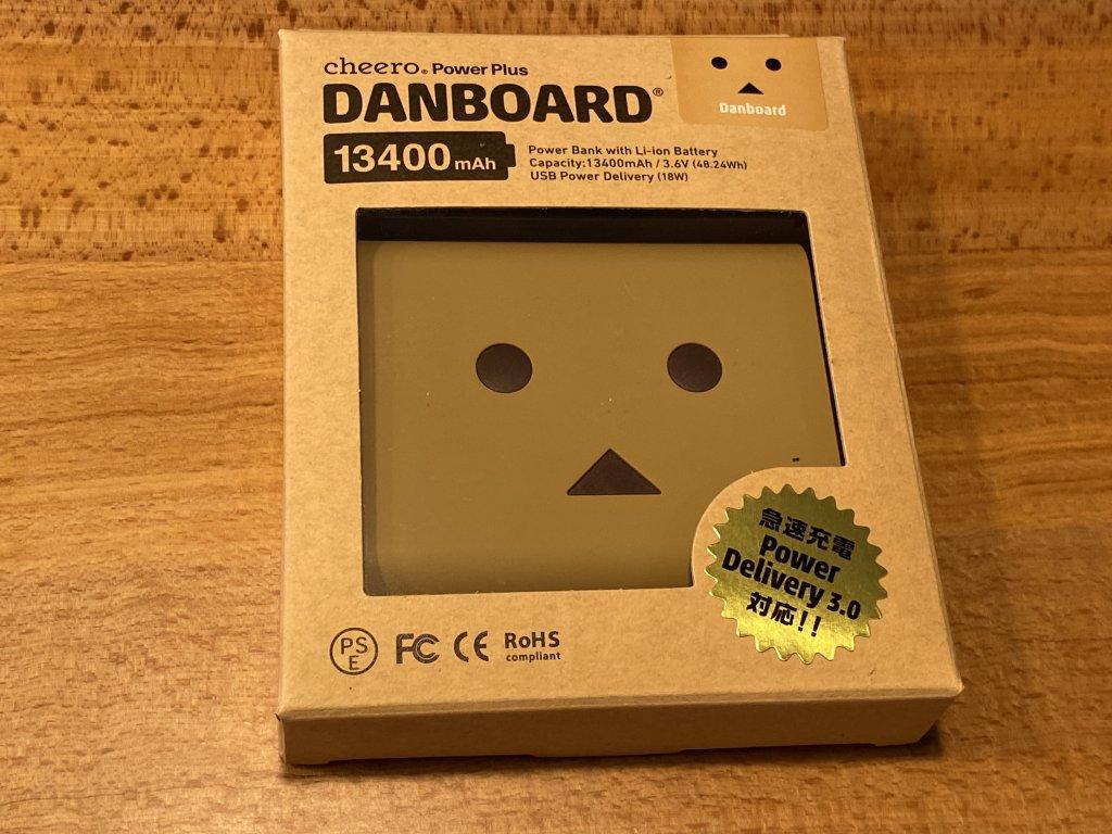 cheero DANBOARD 13400mAh PD18W 外箱