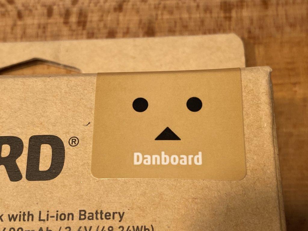 cheero DANBOARD 13400mAh PD18W ダンボーシール