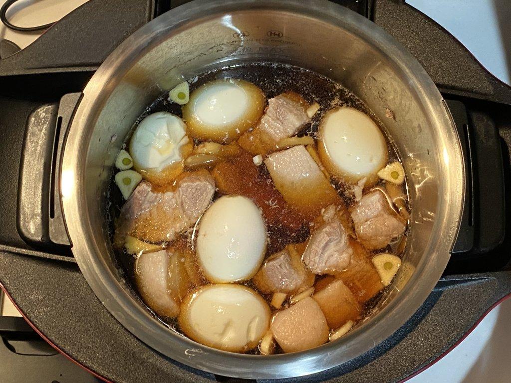 ヘルシオ ホットクック KN-HW16E 豚の角煮 ゆで卵