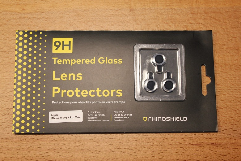 RhinoShield カメラレンズプロテクター 外箱
