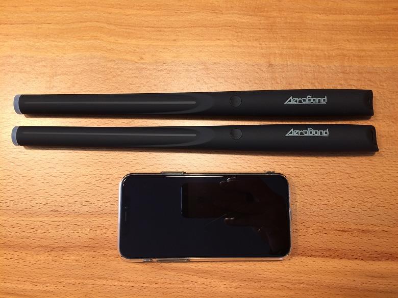 AeroBand スマホと比較