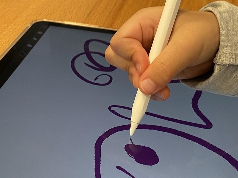 育児に役立つ家電・ガジェット Apple Pencil 第2世代