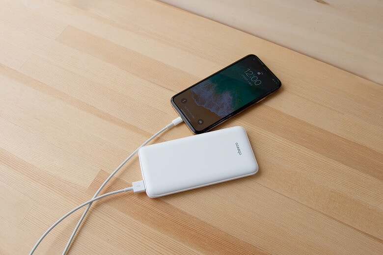cheero Flat 10000mAh with Power Delivery 18W Auto IC
