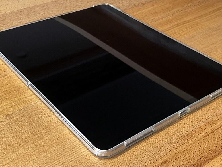 ESR iPad Pro 12.9 ケース 2020 クリア 全体像
