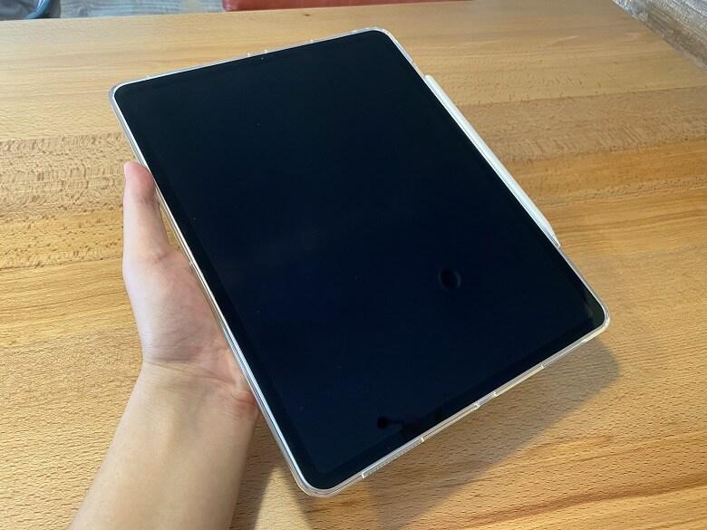 ESR iPad Pro 12.9 ケース 2020 クリア 滑らない