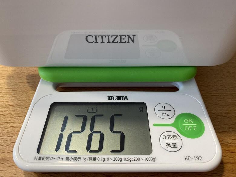 CITIZEN 超音波洗浄器 SWT710 総重量