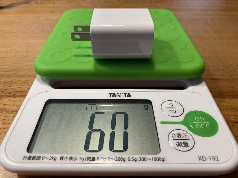 Apple iPad Pro 12.9インチ 2020年モデル ACアダプター重さ