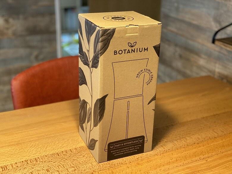 Botanium 外箱