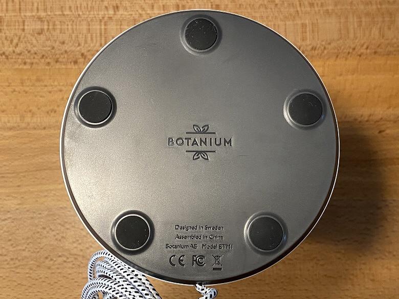 Botanium 底面