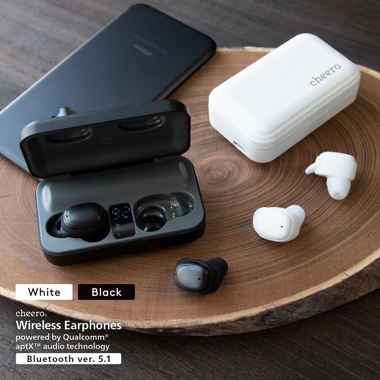 cheero Wireless Earphones Bluetooth 5.1 カラーバリエーション