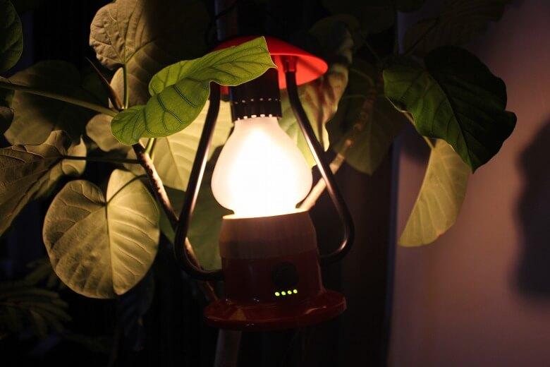 Bluetoothスピーカー付き山小屋風LEDランタン スピーカー機能