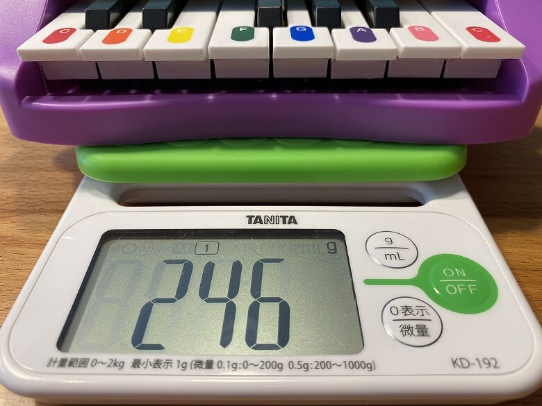 Shifu Plugo Tunes 重さ