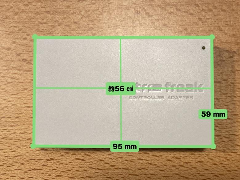 レトロフリーク コントローラーアダプターセット コントローラーアダプターサイズ