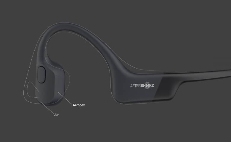 AfterShokz Aeropex 小型化&軽量化