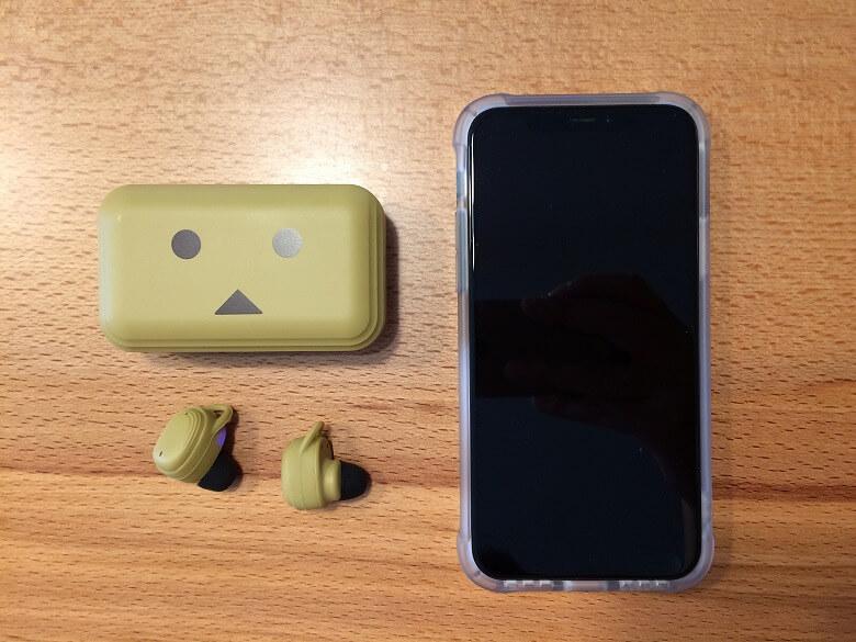 cheero DANBOARD Wireless Earphones Bluetooth 5.1 スマホと比較