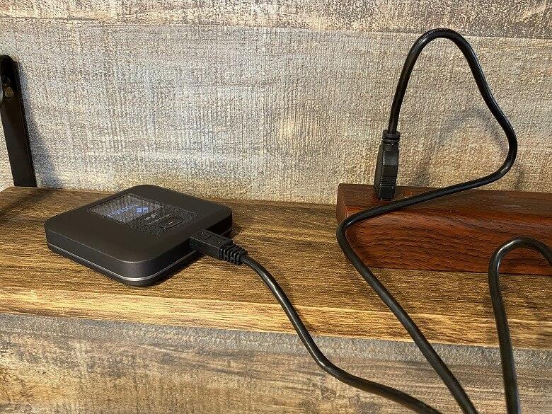 富士ソフト +F FS030W 充電
