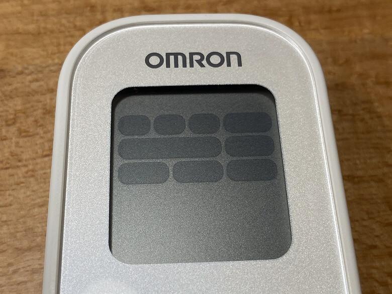 オムロン 低周波治療器 HV-F022 液晶パネル