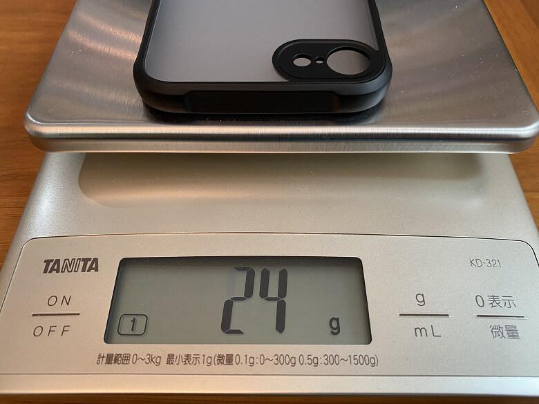 CASEFINITE Hybrid Pro iPhone 7重さ