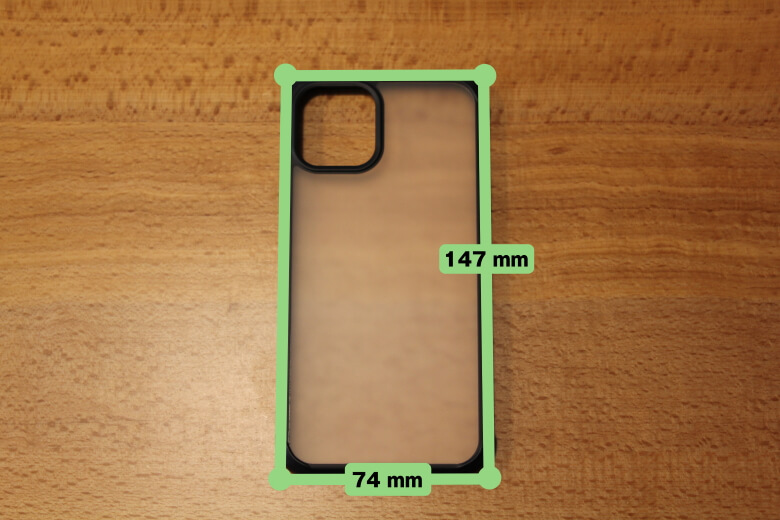 CASEFINITE Hybrid Pro iPhone 11 Proサイズ