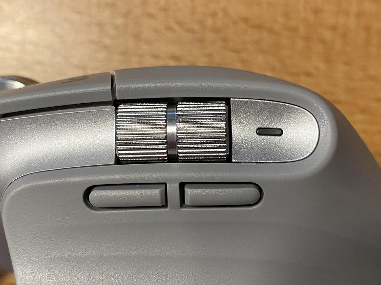Logicool MX Master 3 各種ボタン