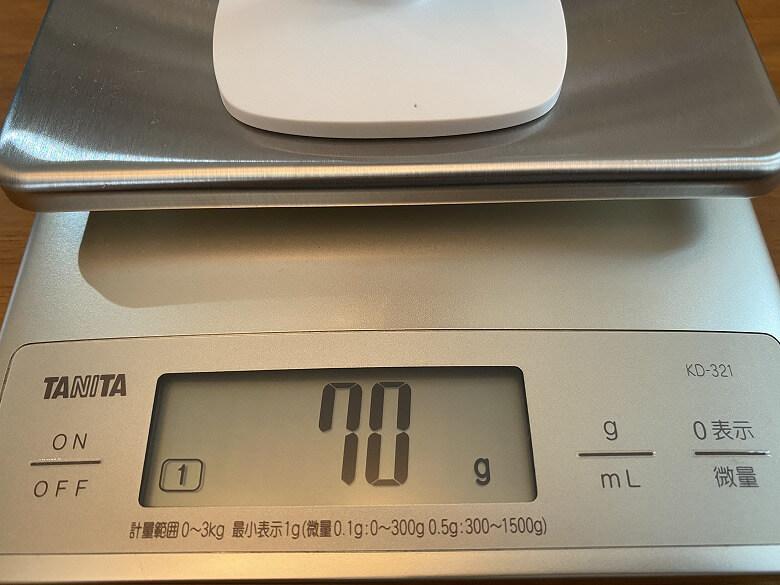 Tapo C100 重さ