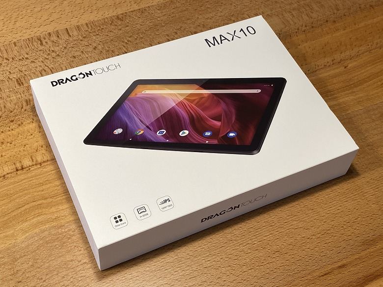 Dragon Touch MAX10 外箱