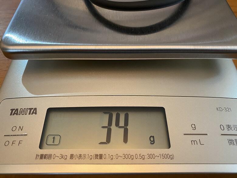 ZENLOOP 磁気炭素ネックレス 重さ