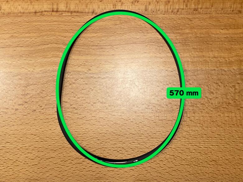ZENLOOP 磁気炭素ネックレス 長さ