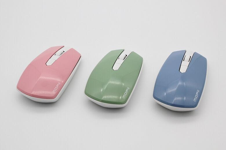 ハニーカラフルキーボード 3色マウス