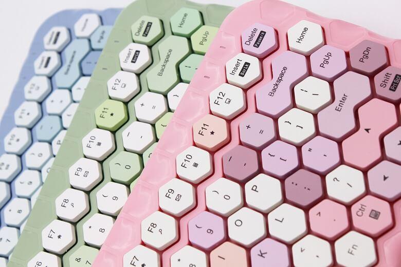 ハニーカラフルキーボード