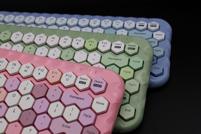 ハニーカラフルキーボード カラーバリエーション
