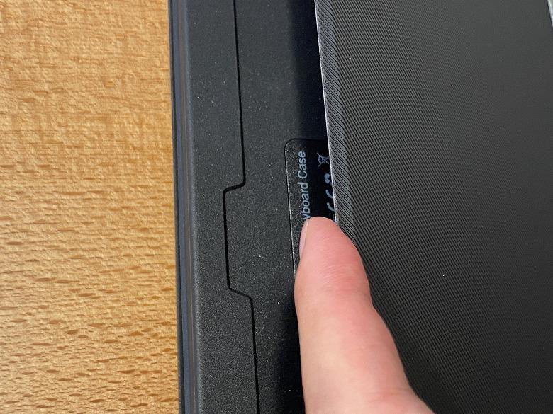 Inateck iPad Pro 12.9 キーボードケース スタンド引き出し