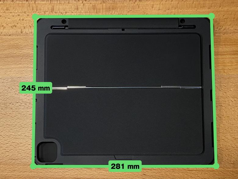 Inateck iPad Pro 12.9 キーボードケース サイズ