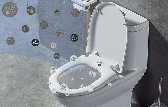 Mahatonどこでも除菌 トイレの菌