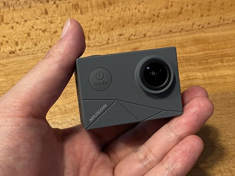 MUSON MAX1 アクションカメラ 外観