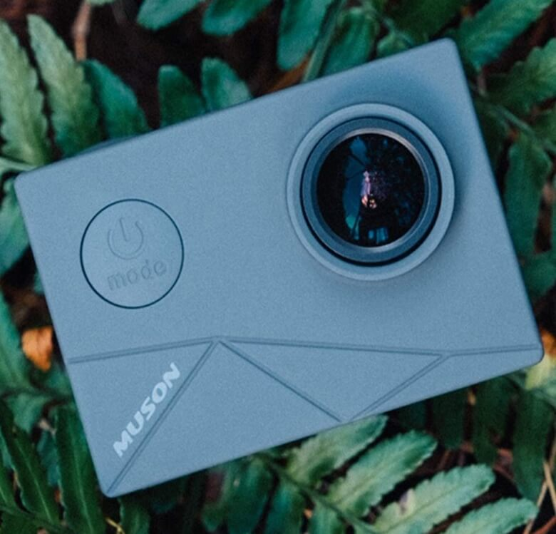 MUSON MAX1 アクションカメラ 機能
